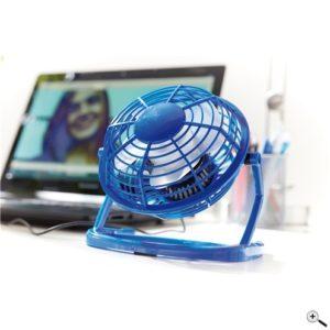 USB-Ventilator NORTH WIND blau