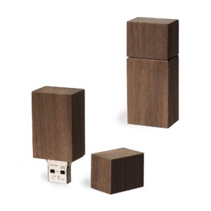 USB Stick Timber Nussbaum