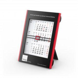 Tisch-Aufstellkalender Roll Up 3 Bestseller schwarz-rot