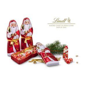 Lindt Weihnachtsmann - Metalldose