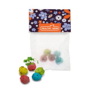 Bunte Mini Flowerballs Wildblumsamen