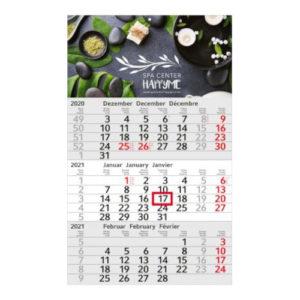 Einblattmonatskalender 3 Monate Budget Bestseller