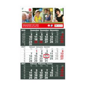 Einblattmonatskalender 3 Monate Spectrum Bestseller