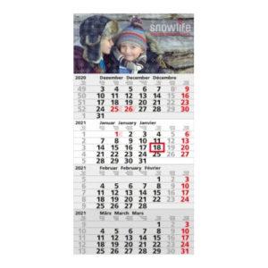 Einblattmonatskalender 4 Monate Mega A Bestseller Post