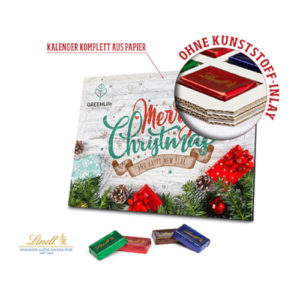 Lindt Adventskalender Naps Eco