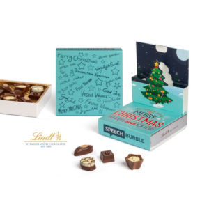 Lindt Mini Pralinés in Christmas Popup