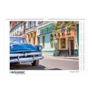 Magic Pix Wandkalender A3 mit Kundennamen