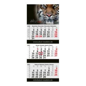 Mehrblockmonatskalender 3 Monate Maxi Post Bestseller
