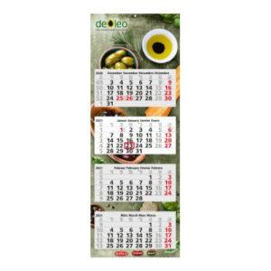 Mehrblockmonatskalender 4 Monate Quadro Light Bestseller