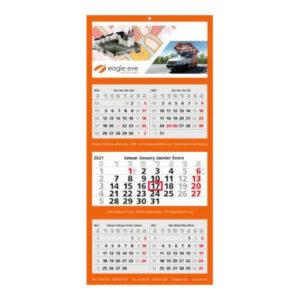 Mehrblockmonatskalender 5 Monate Multi