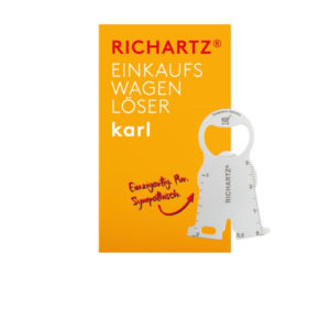 RICHARTZ® Einkaufswagenlöser Karl