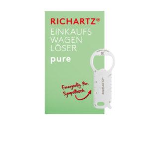 RICHARTZ® Einkaufswagenlöser Pure
