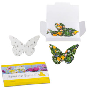 Schmetterling Samenpapier