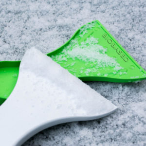 Eiskratzer aus biobasierten Materialien