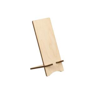 Smartphonehalter aus Holz